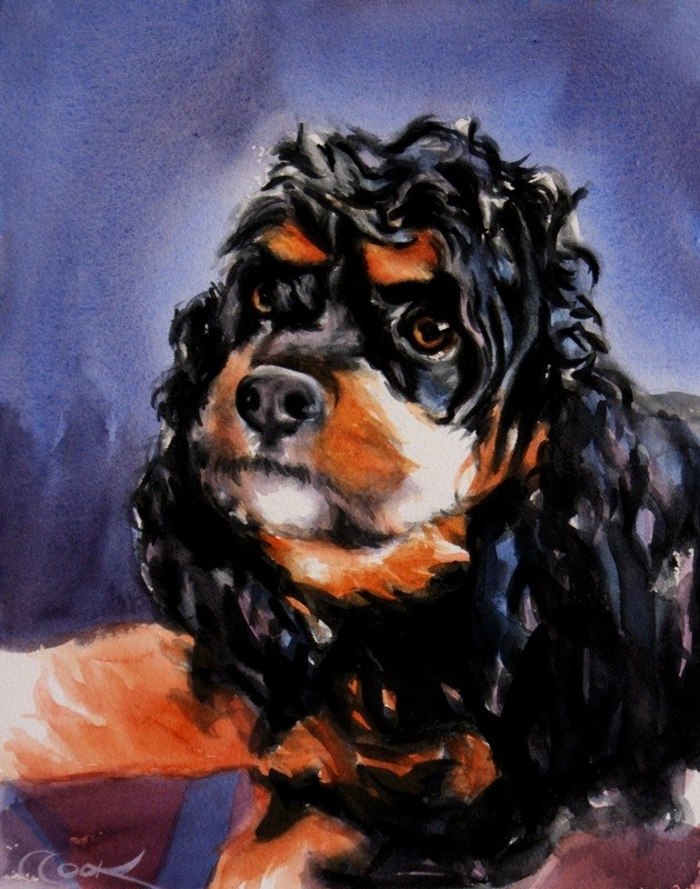 """Bella"" original fine art by Crystal Cook"