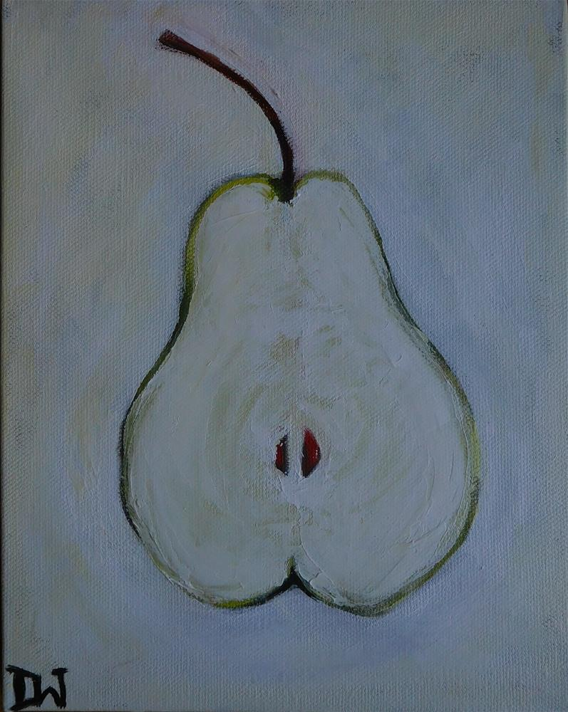 """Barely there Pear"" original fine art by Daryl West"