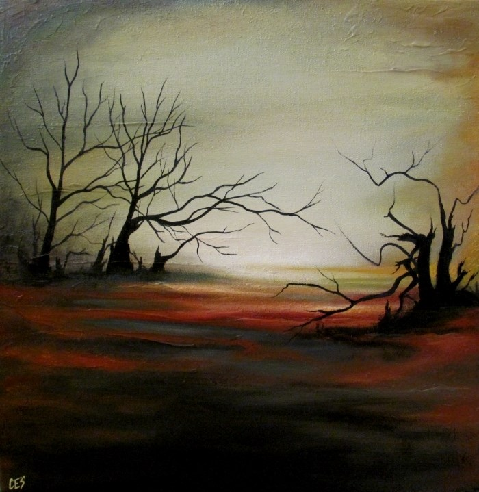"""The Morass"" original fine art by ~ces~ Christine E. S. Code"