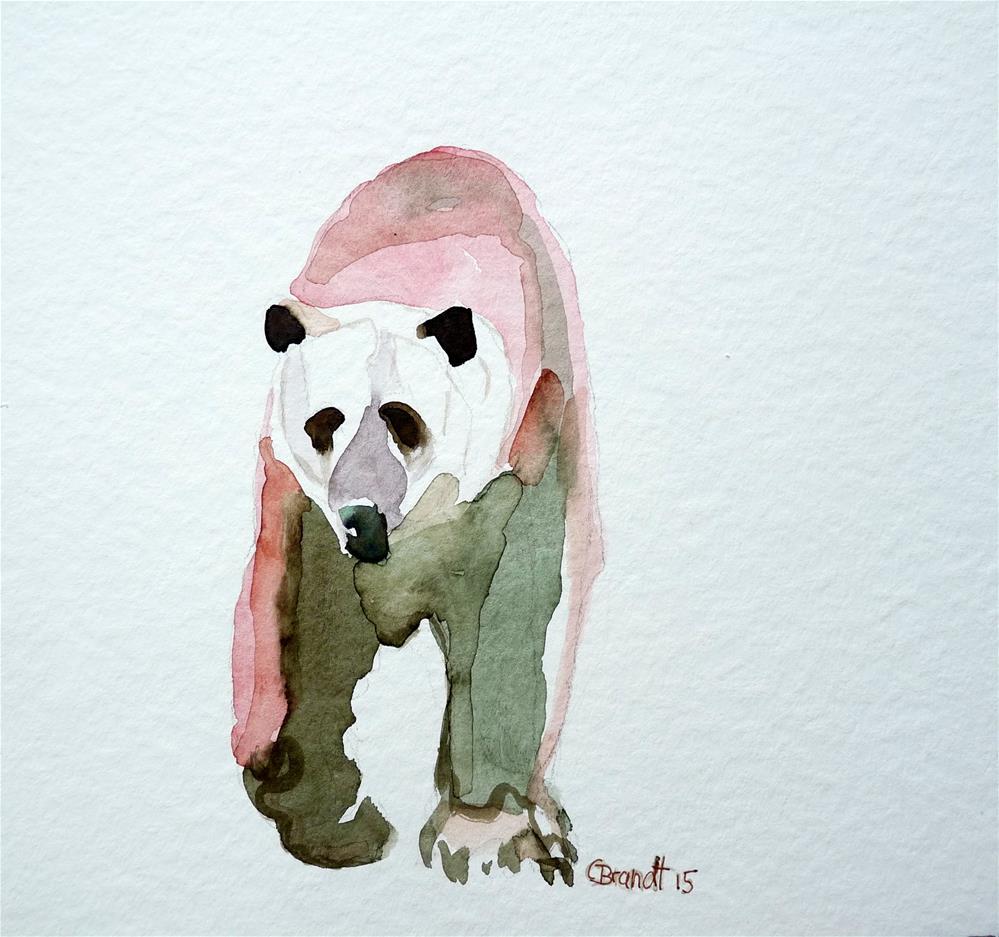 """bear"" original fine art by Claudia Brandt"