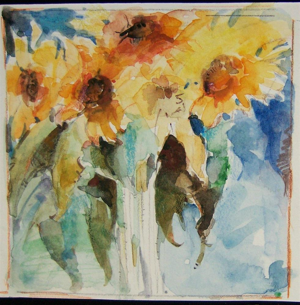 """My Sunshine"" original fine art by Kim Roberti"