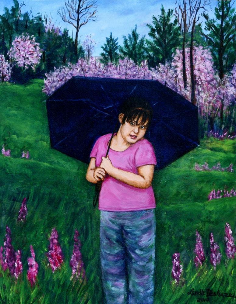 """Untitled"" original fine art by Lendel Holmes"