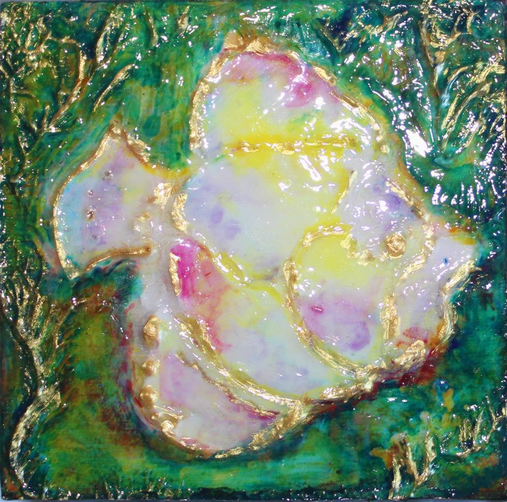 """""""My Sweet Friend"""" original fine art by Christiane Kingsley"""