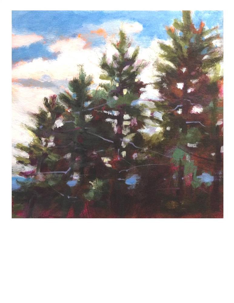 """Tree Study"" original fine art by Suzanne Woodward"