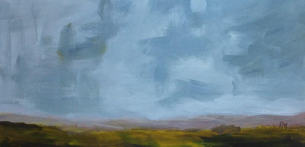"""August Afternoon"" original fine art by Pamela Munger"