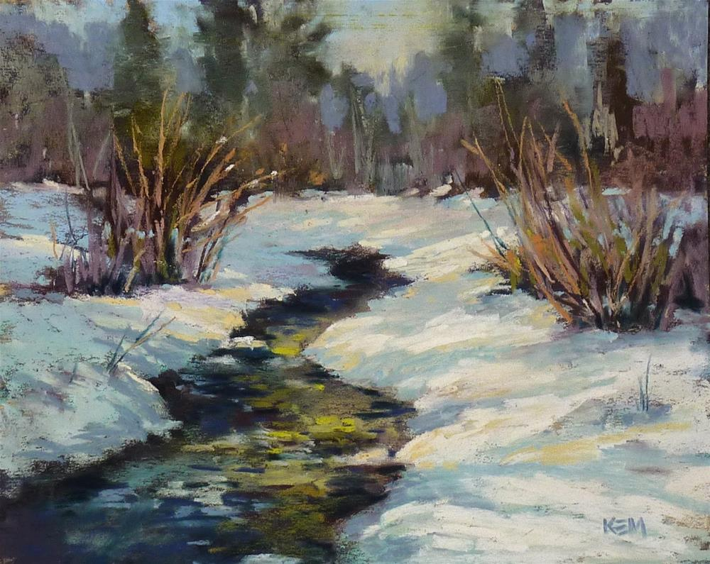 """A Great Tip For Better Paintings with White"" original fine art by Karen Margulis"
