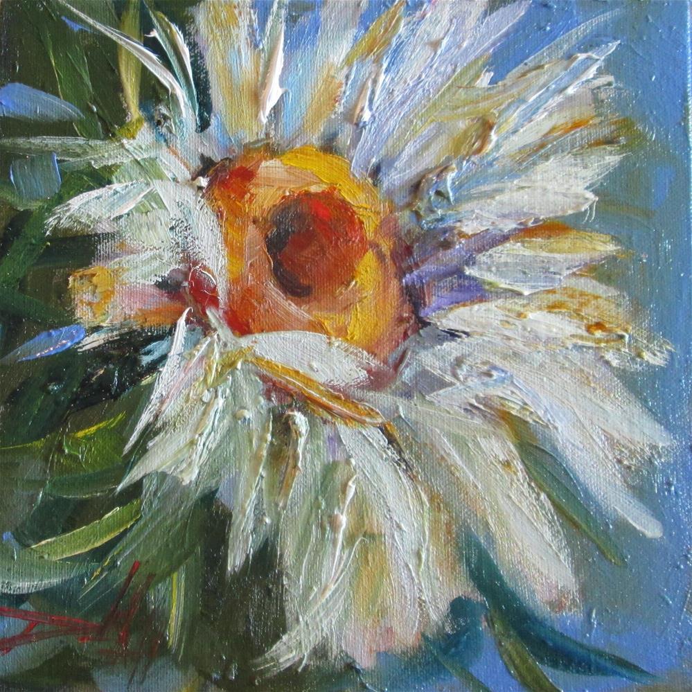 """Daisy"" original fine art by Delilah Smith"