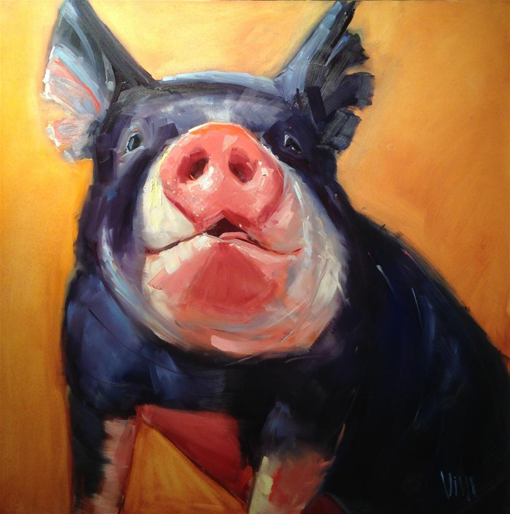 """#260 High Hopes"" original fine art by Patty Voje"