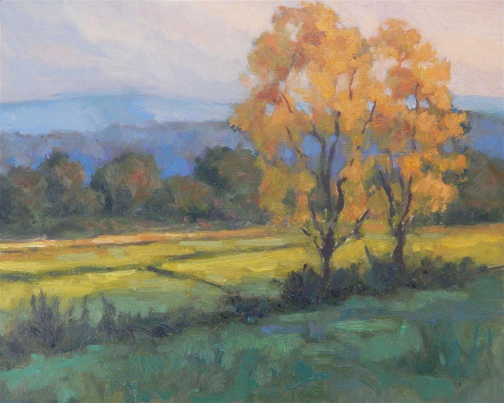 """Impression of Autumn"" original fine art by Lisa Kyle"