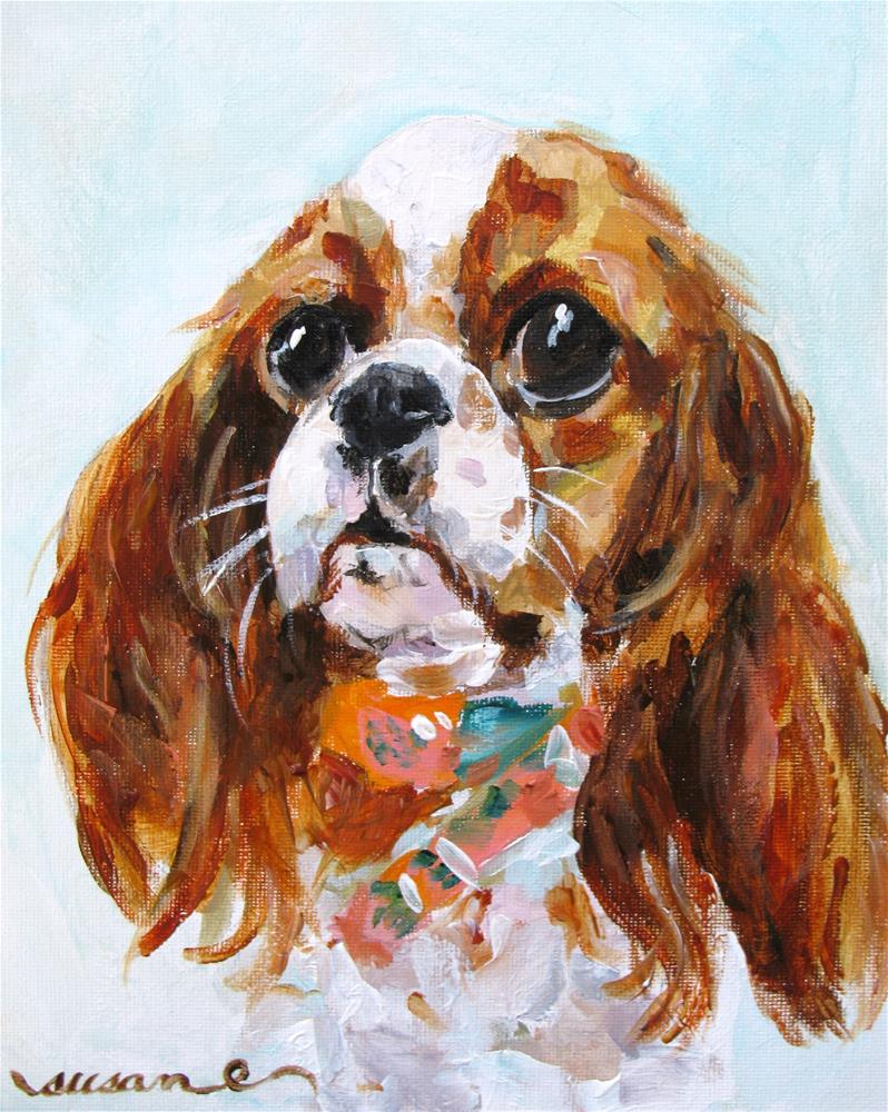 """Precious Pippa"" original fine art by Susan Elizabeth Jones"