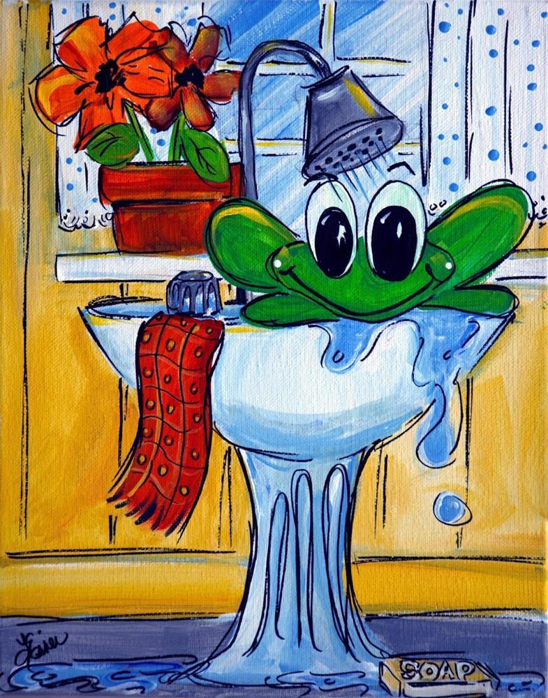 """Whimsical Fun"" original fine art by Terri Einer"