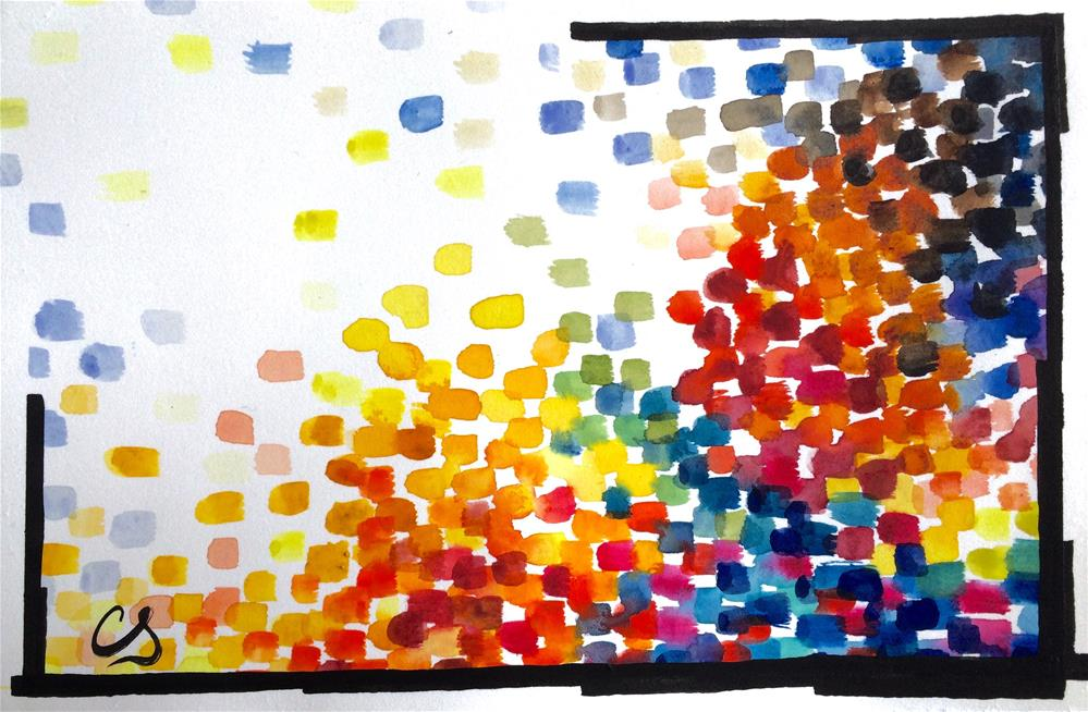 """The Escape"" original fine art by Claudia Selene"