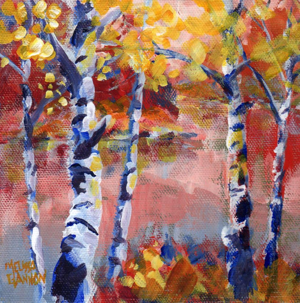 """Seasonal Brilliance"" original fine art by Melissa Gannon"