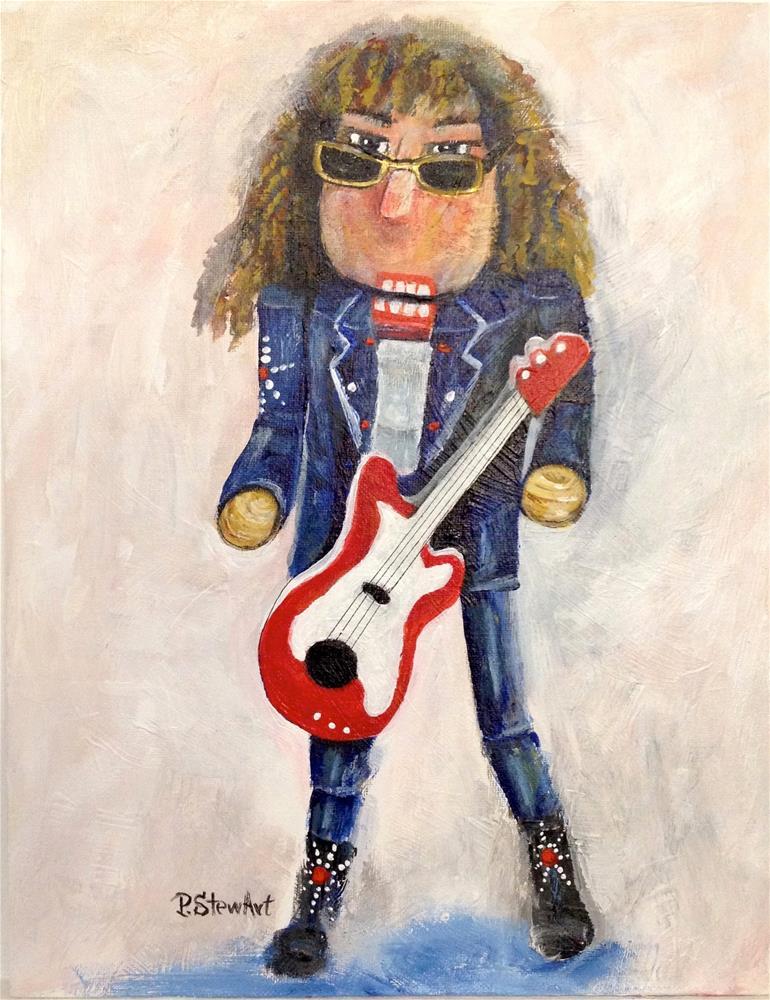 """""""11x14 Nutcracker RockStar 2011 acrylic Original painting OOAK Penny StewArt"""" original fine art by Penny Lee StewArt"""