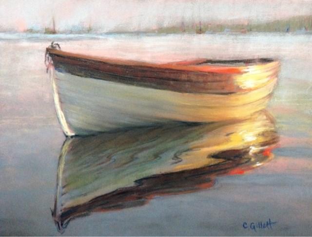 """""""Morning Calm"""" original fine art by Cindy Gillett"""