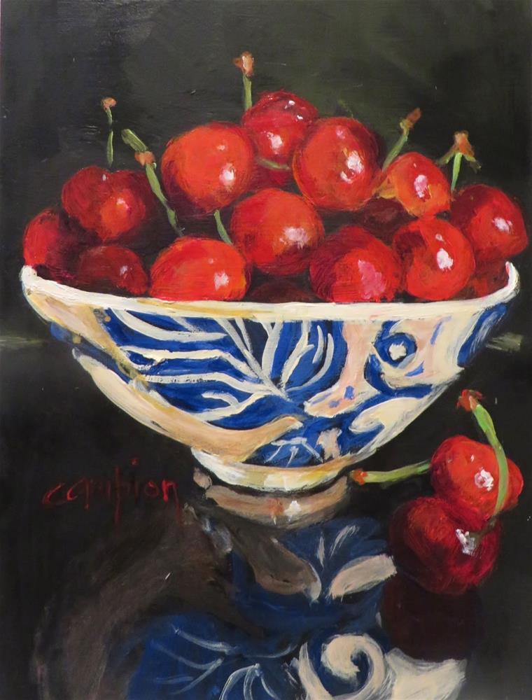 """849 Feeling Jubilant in Door County"" original fine art by Diane Campion"