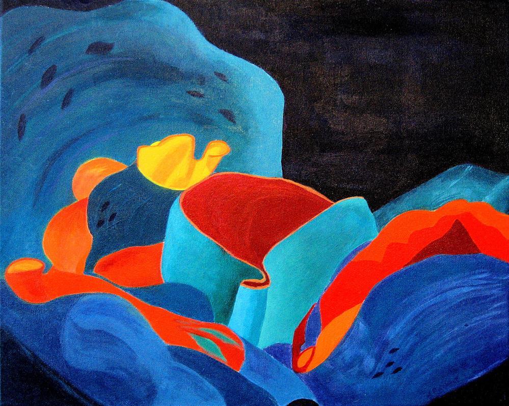 """Inorganic incandescence"" original fine art by Lynne Reichhart"