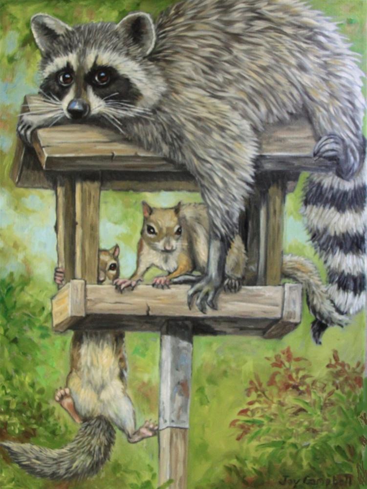 """Empty"" original fine art by Joy Campbell"
