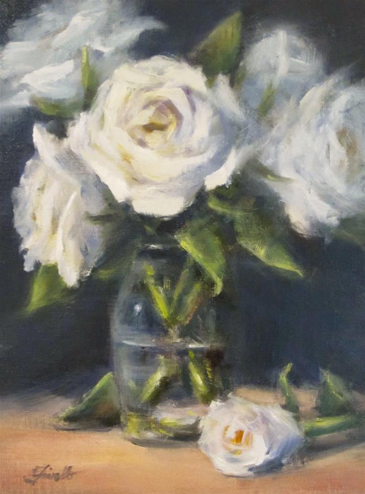 """Classic Whites"" original fine art by Pat Fiorello"