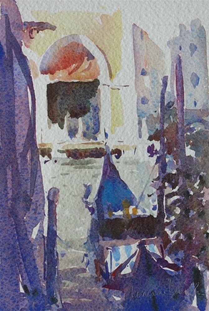 """Waiting"" original fine art by Lorraine Lewitzka"