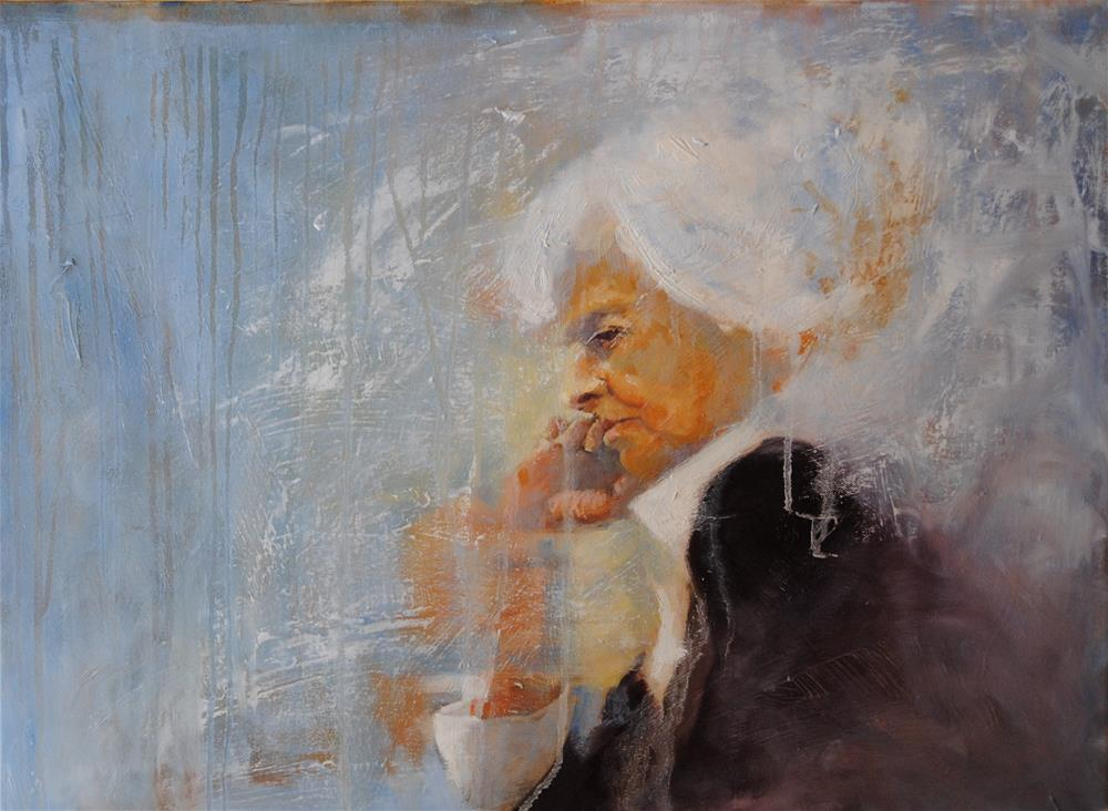 """Fading"" original fine art by Lori Jacobs - Farist"