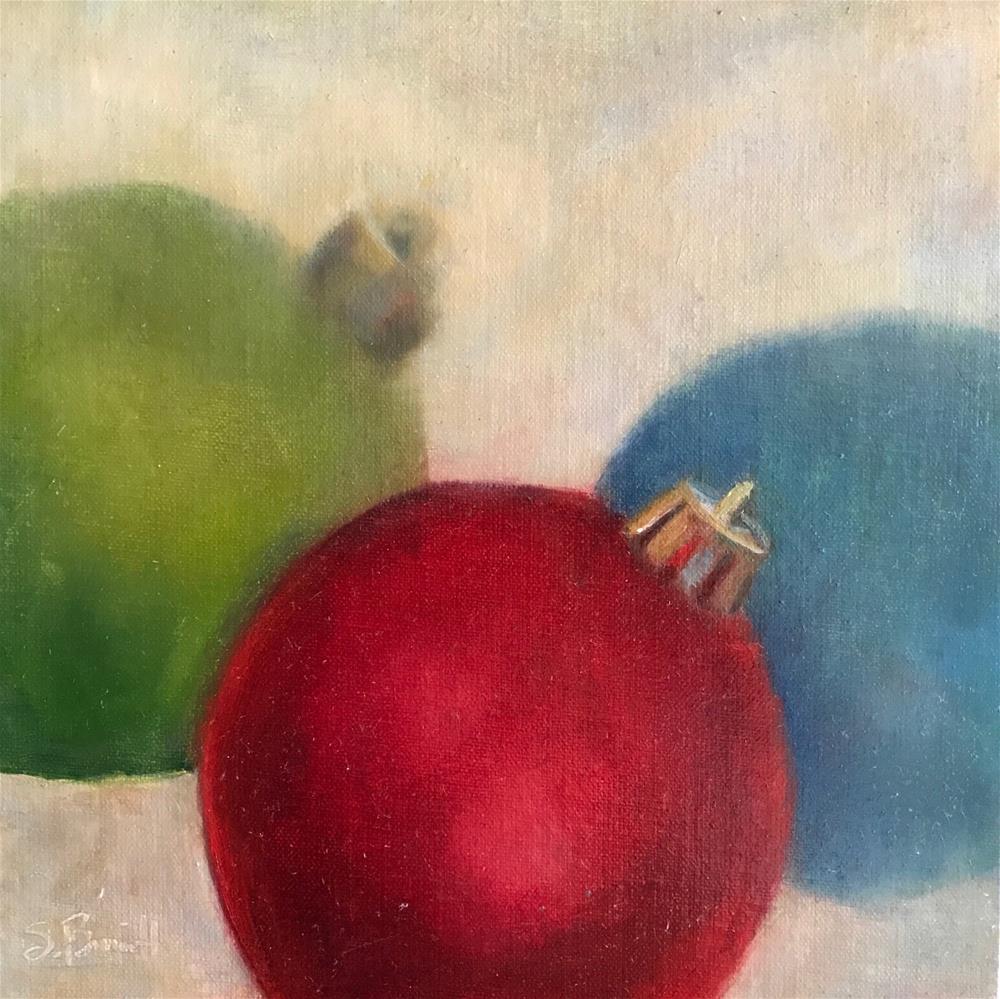 """Waiting For A Tree"" original fine art by Sherri Burritt"