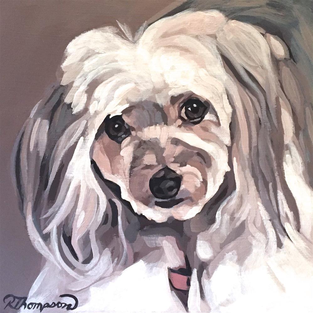"""Tilly"" original fine art by Rachel Thompson"