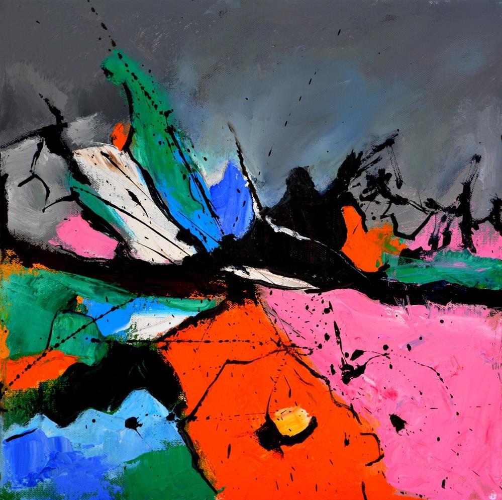 """abstract 4451506"" original fine art by Pol Ledent"