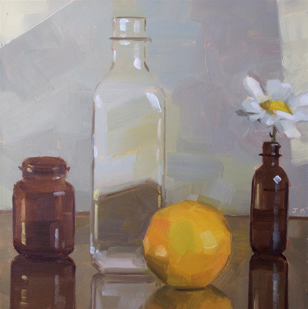 """""""Tranquil Light"""" original fine art by Jiyoung Kim"""
