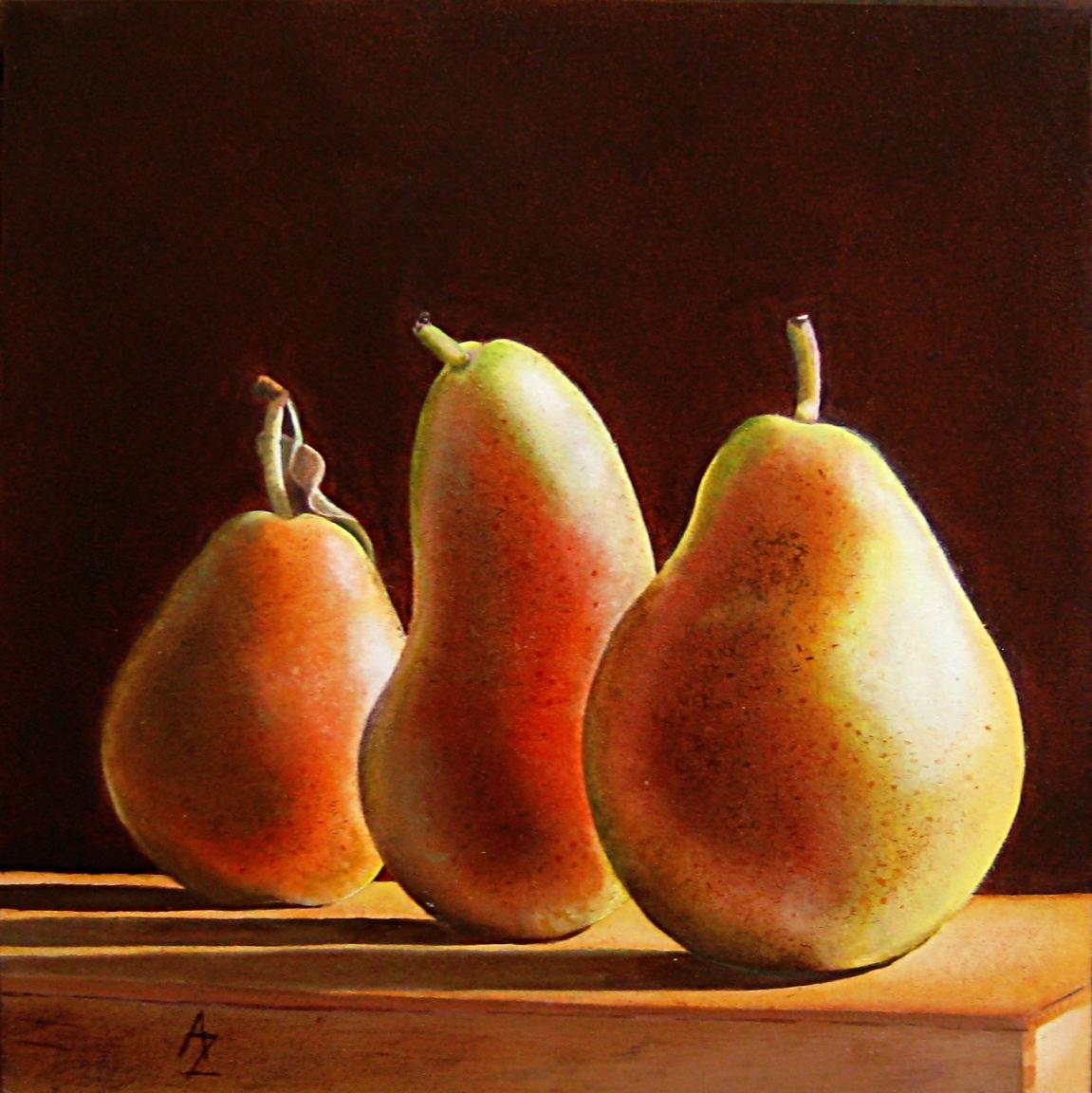 """Sentries"" original fine art by Alex Zonis"