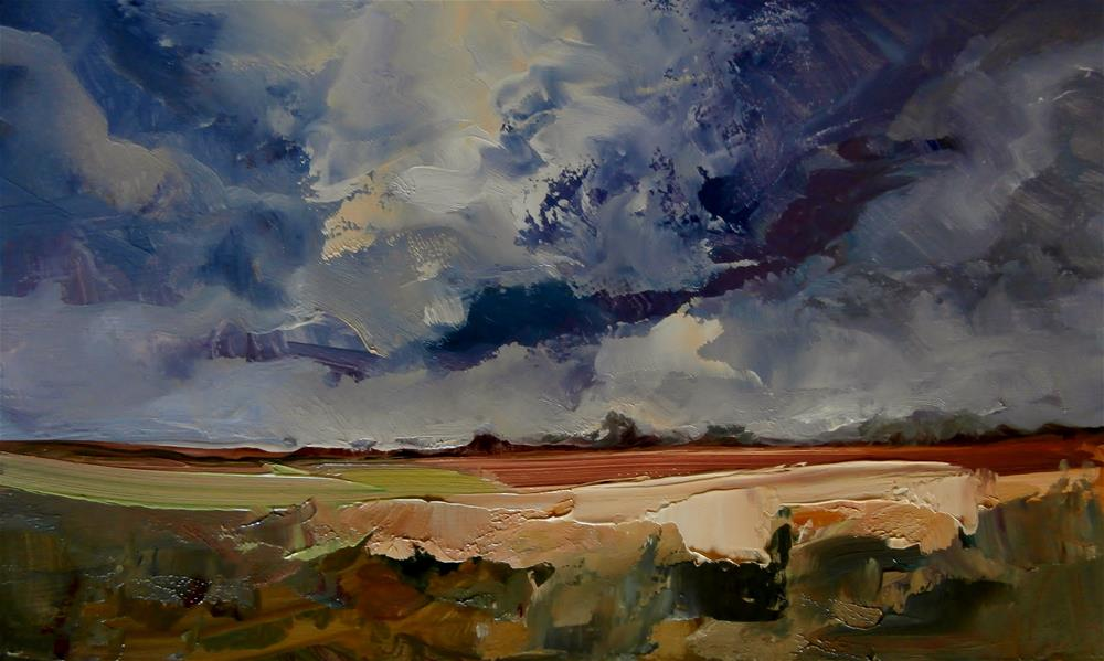 """Under a Cloud"" original fine art by Anne Wood"
