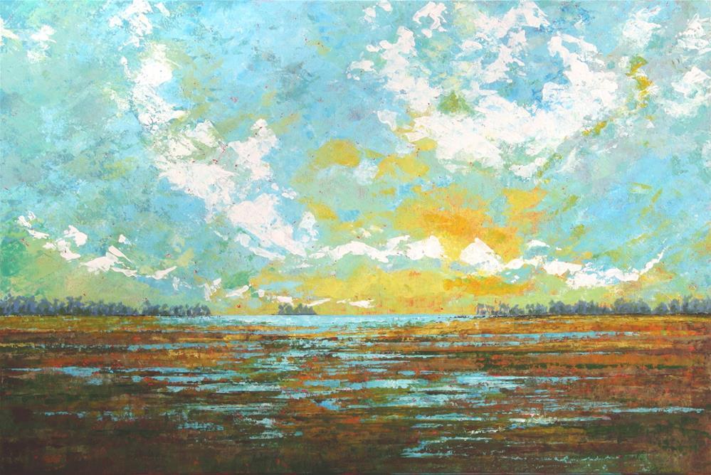 """Low Tide"" original fine art by Sage Mountain"