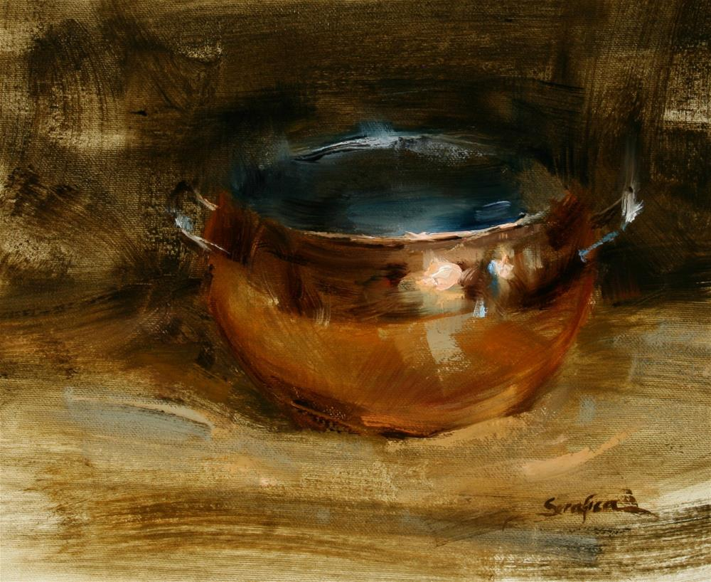 """""""Copper Study"""" original fine art by Scott Serafica"""
