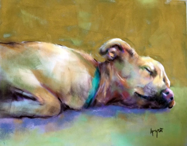 """Long Day"" original fine art by Anne Marie Propst"