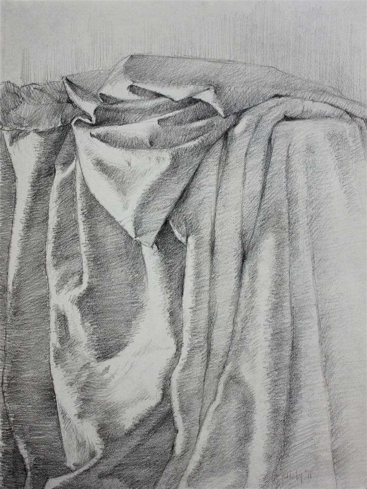 """Drapery Study, 1"" original fine art by Ski Holm"