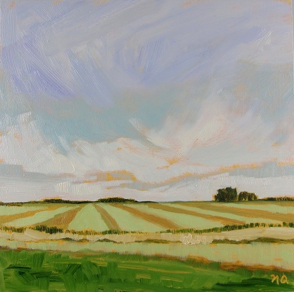 """September Harvest"" original fine art by Nicki Ault"