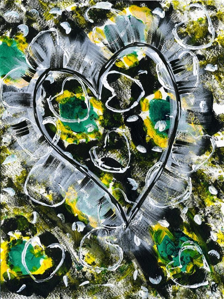"""My Heart Swells"" original fine art by Kali Parsons"