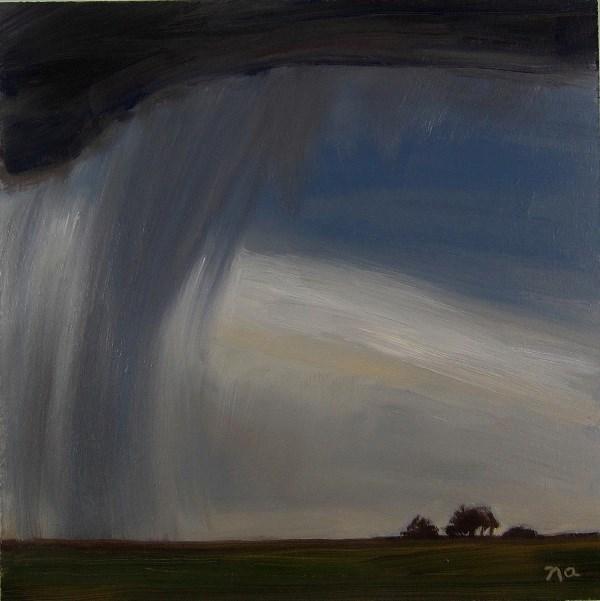 """Rain"" original fine art by Nicki Ault"
