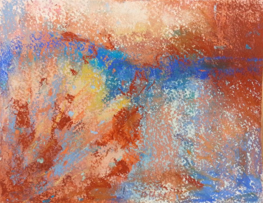 """""""Luminous"""" original fine art by Becky Chappell"""