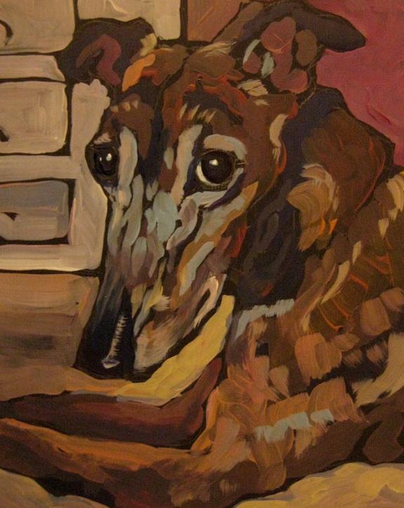 """Kaia"" original fine art by Kat Corrigan"