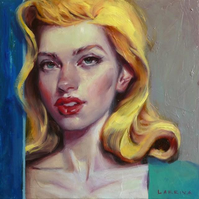"""Blue Door"" original fine art by John Larriva"