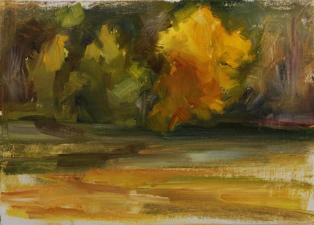 """Fall Tree Study"" original fine art by Carol DeMumbrum"