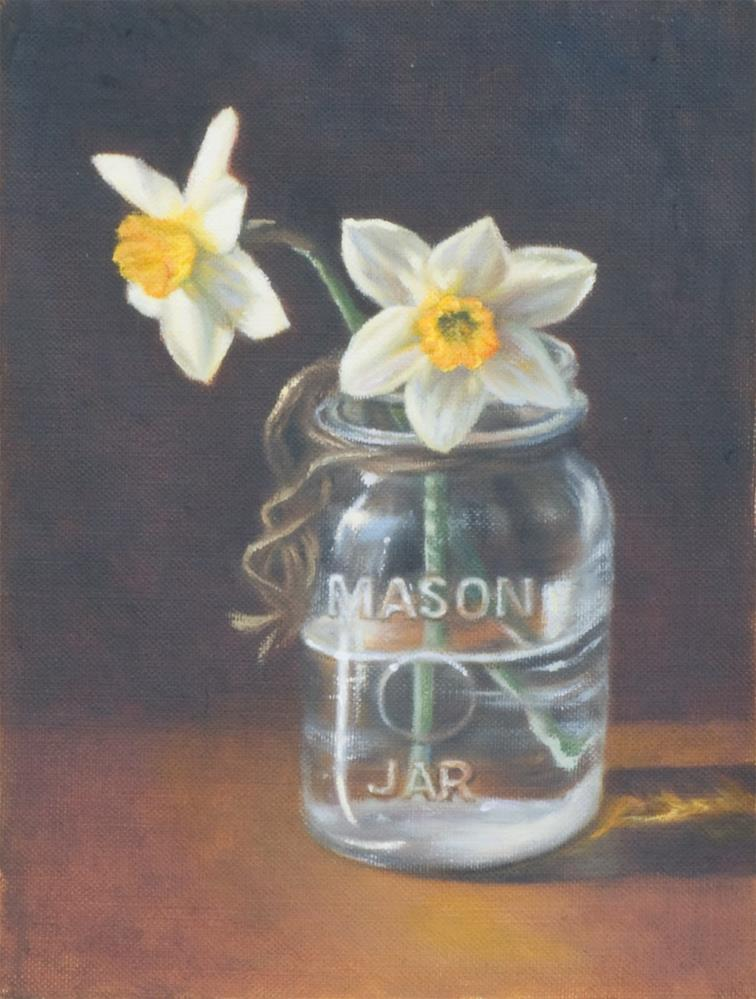"""Let the Sun Shine In"" original fine art by Melissa  Imossi"