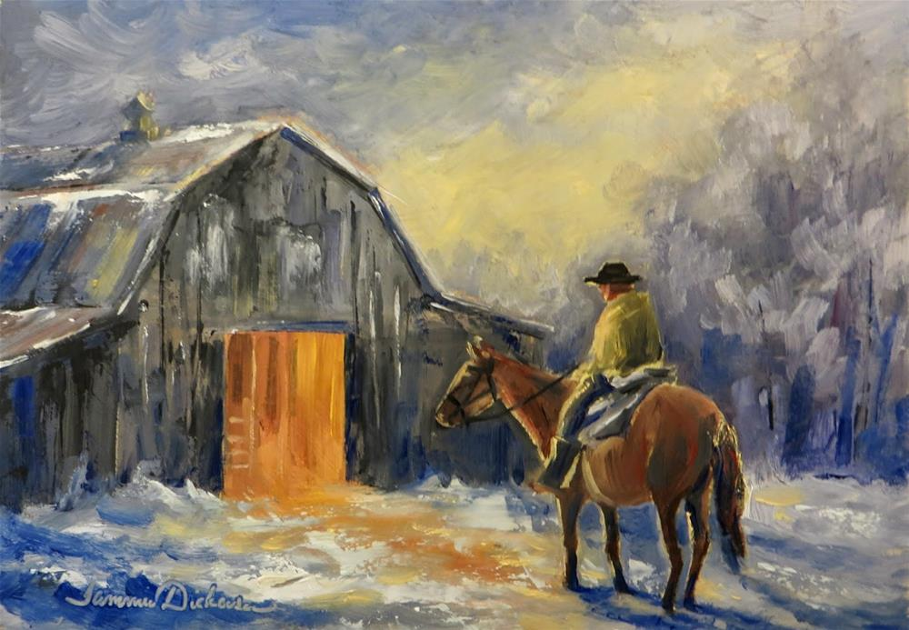 """Coming Home"" original fine art by Tammie Dickerson"