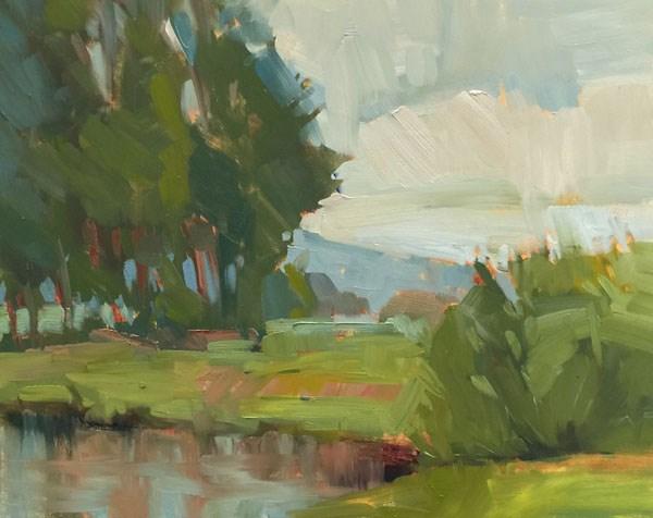 """""""Right Before the Raindrops"""" original fine art by Patti McNutt"""