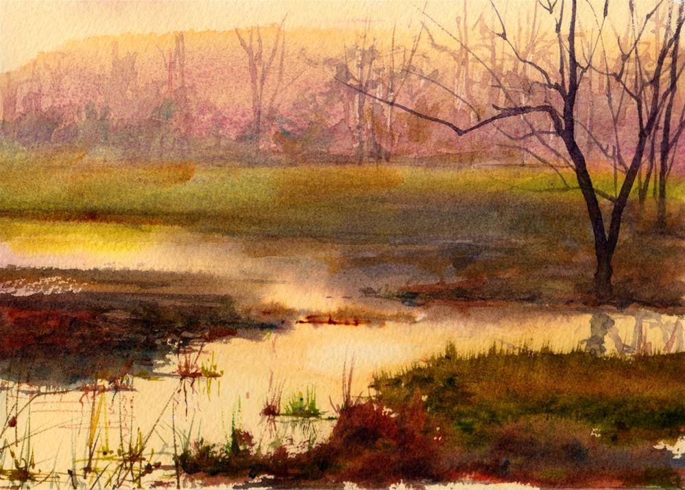 """Quiet Moments"" original fine art by Linda Henry"