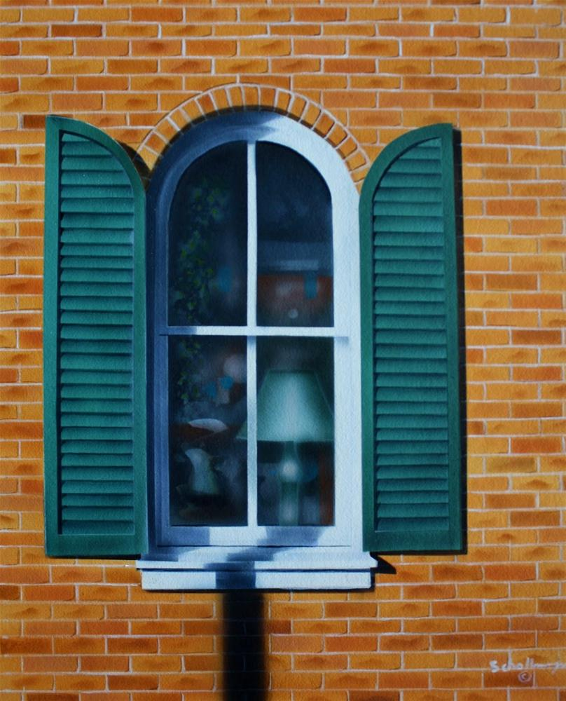 """East Window (Mid-morning)"" original fine art by Fred Schollmeyer"