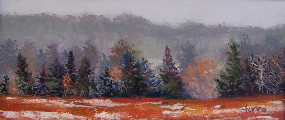"""Back Barren"" original fine art by Susan Ferro"