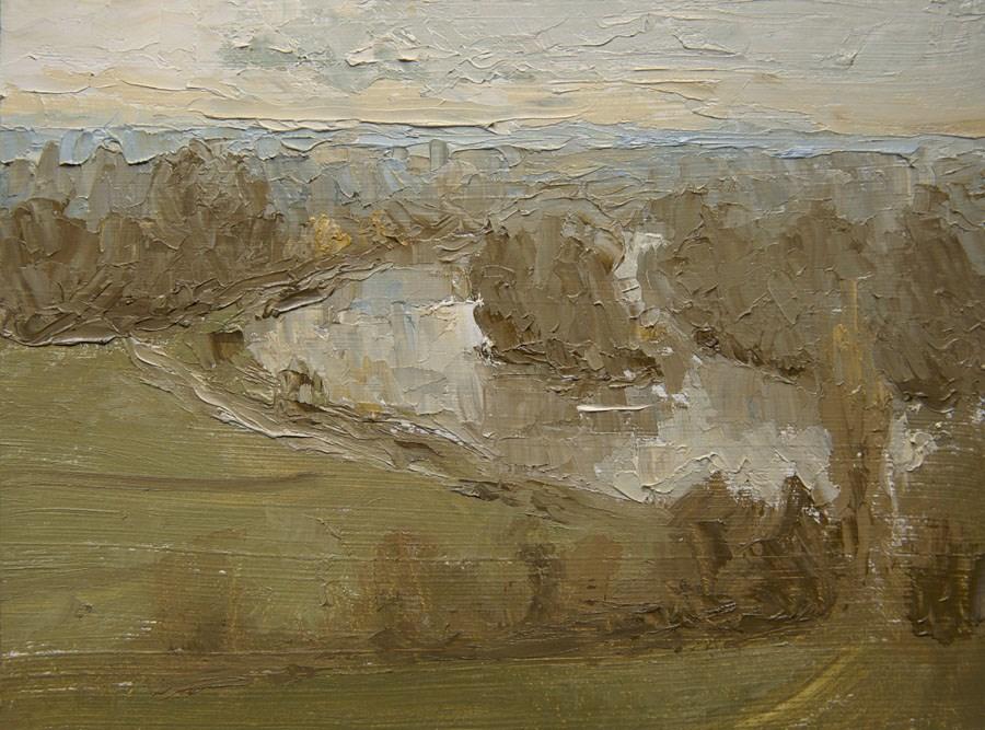 """Richmond River"" original fine art by Jethro Knight"