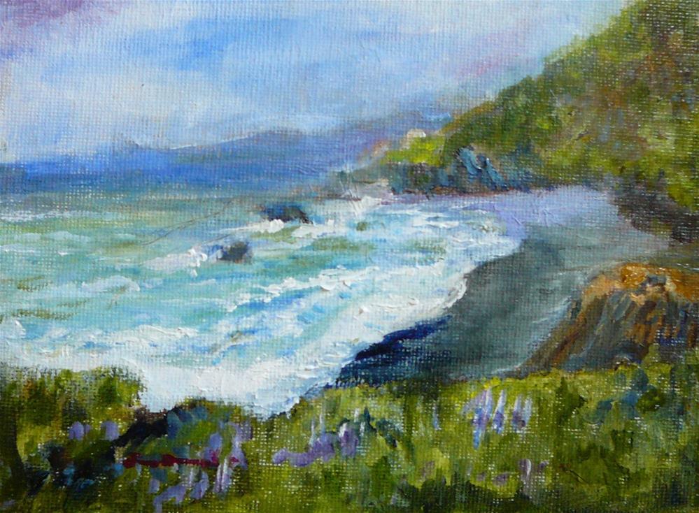 """""""Shelter Cove"""" original fine art by Jane Morac'E"""